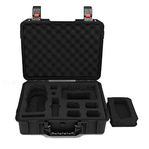 Amazetech Waterproof Shockproof Hard Case Compatible with DJI Mavic 2 Pro/DJI Mavic 2 Zoom and DJI Smart Controller