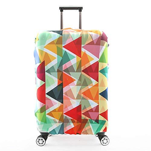 Funda protectora elástica para equipaje de viaje, para tamaño XL: 30-32 pulgadas (geometría triangular)