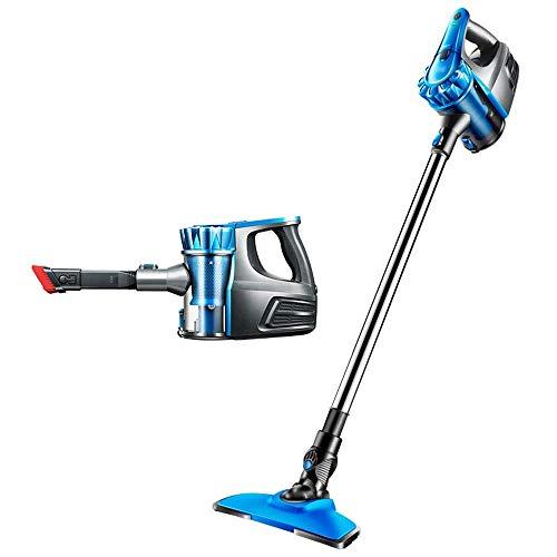 AOIWE Limpiador de vacío para el hogar Limpiador de vacío sin Cable, liviano sin Cable 2 en 1 aspiradora de Palos Verticales, Mini Mudo, succión Fuerte, para Limpieza de Autos y hogar