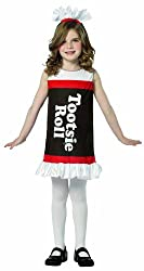 Tootsie roll costume for girls