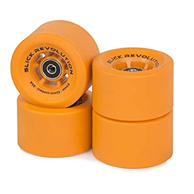 Slick Revolution Electric Skateboard Wheels | Slick 83mm | 85 and 78A Urethane Compound | Revolutionise Your Ride
