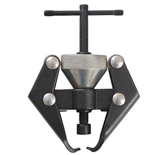 CCLIFE Universal Batterie Polklemmen Wischerarm Abzieher Zwei-Arm-Abzieher Scheibenwischer Auszieher Werkzeug 10-30mm