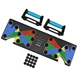 ACTENLY Faltbare 9-in-1 Push Up Rack Board System mit Handgriff Push-Up-Bracket Board Portable Multifunktionales Muskeltraining System für Home Fitness Workout Training Gym Übungsständer