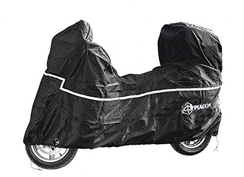 OEM Original Piaggio Scooter Cover with Top Case Waterproof Outdoor Piaggio Fly Liberty Zip NRG Typhoon 50 125 150 cc All Weather Outdoor Scooter Garage Imported from Italy 605290M004