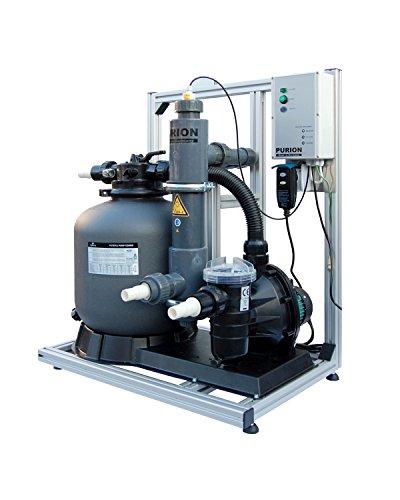 Sistema PURION 40 UVC Sistema completo Limpieza de piscinas sin productos químicos y sin cloro Diversión de baño sin ojos rojos con control de la vida útil