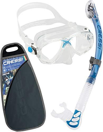 Cressi Unisex Marea & Alpha Ultra Dry - Premium Schnorchelset