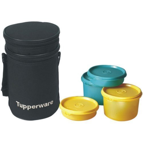 Tupperware Executive Lunch-Set mit Tasche, 4-teilig (186B)