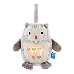 Innovative CrySensor 4 soothing sounds - heartbeat, rainfall, white noise static and Brahms lullaby Adjustable volume and light leves – high, mid, low (tailored to suit your baby) Sounds play for 20 minutes, light shines for 30 minutes Secure velcro ...