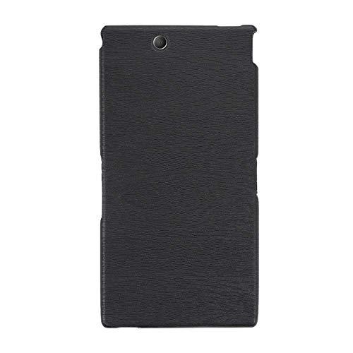 Sony Xperia Z Ultra XL39H, custodia in pelle morbida TPU resistente ai graffi, antiurto in gomma siliconica di lusso per Sony Xperia Z Ultra XL39H (nero)