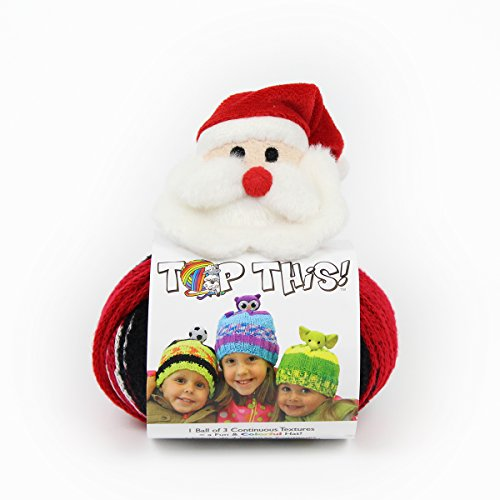 DMC TTY15SA Top This! Yarn, Santa, Multicolor