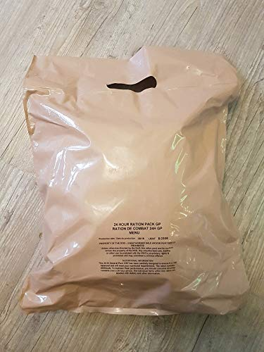 Armee UK BRITTISCHES EPA MENÜ 13 Great Britain MRE Meal Ready to EAT Army Food BW NOTRATION