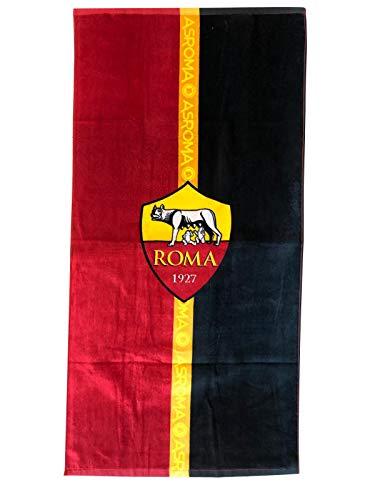 A.S. ROMA Telo Mare, Rosso-Nero, 70x140