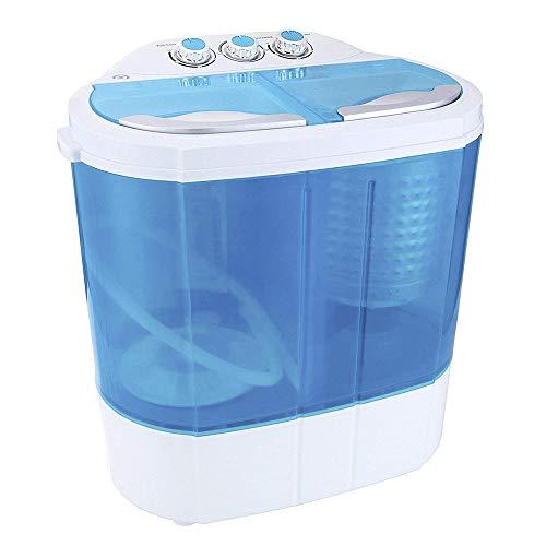 Display4top Mini-lavatrice • Lavatrice • Capacità 3.6 kg - Spina standard europea(Blu)
