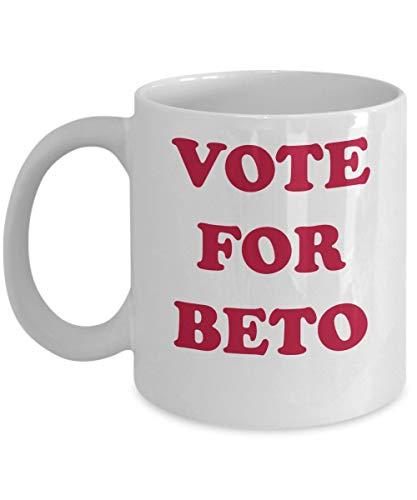 Taza Beto ORourke Vote por Beto Texas Coffee Gift