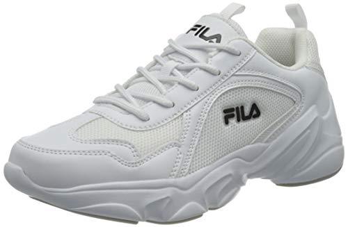 FILA Alamo kids zapatilla Unisex niños, blanco (White), 35 EU