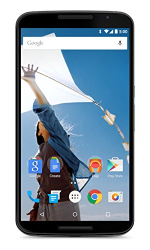 Motorola Nexus 6 XT1103 64GB Unlocked GSM 4G LTE Quad-Core Android Smartphone w/ 13MP Camera - Cloud White