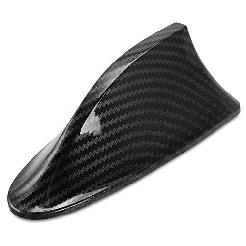 YJXJJD Car Carbon Fiber Shark Fin Antenna for Peugeot 3008 5008 408 2008 308 508 for Citroen C4 C5 C6 C4L Cactus DS4 DS5L