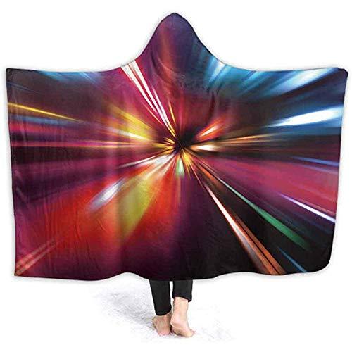 Henry Anthony 40 x 50 Zoll mit Kapuze Decke, bunten Hintergrund Wele Cuddle werfen warme gemütliche Futter Feste Flanell,