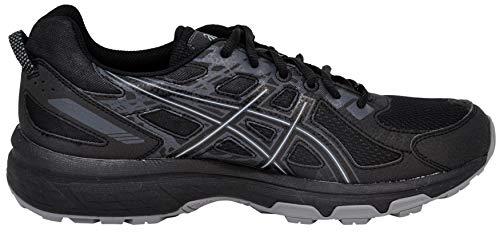 ASICS Men's Gel-Venture 6 Running Shoe, Black/Black, 10.5 D(M) US