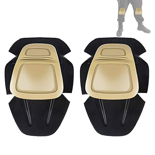 Tactical Protective G3 Combat Knee Pads for Military Airsoft Hunting Pants Tan
