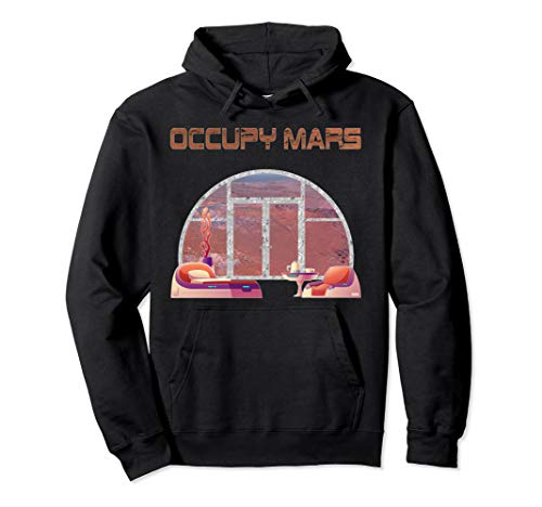 Neil deGrasse Tyson Occupy Mars Pullover Hoodie