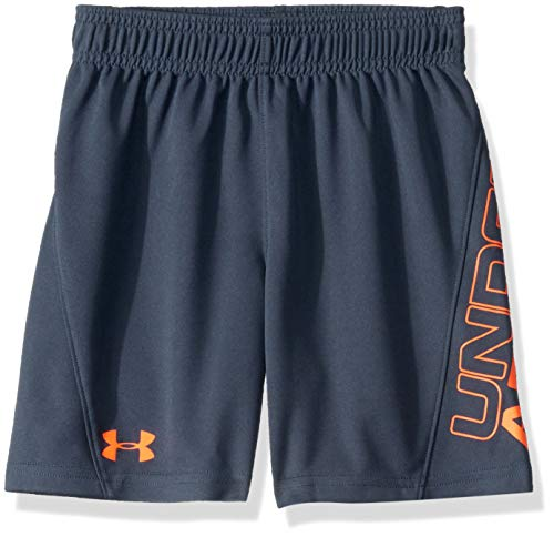 Under Armour Boys' Little Kick Off Short, Wire F19, 5
