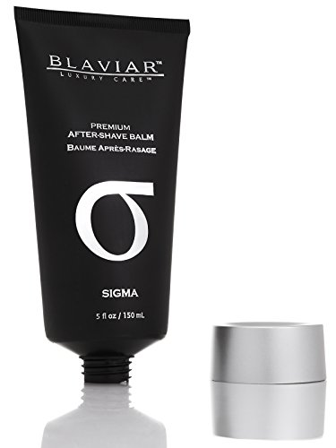 Sigma by Blaviar | Ultra-Luxury Eau de Cologne After-Shave Balm, 5 fl oz / 150 mL