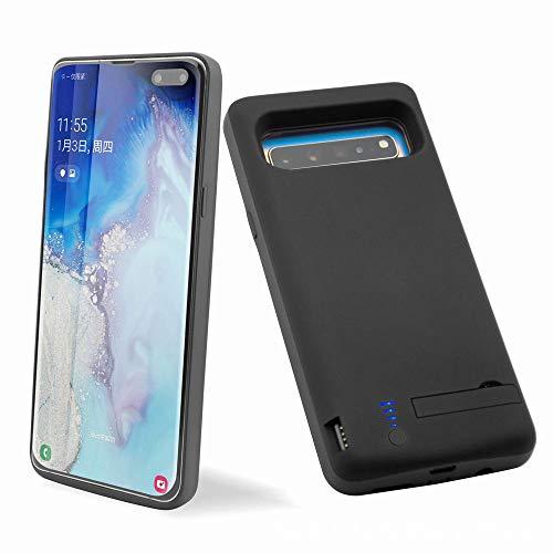 Huije Akku Hülle für Samsung Galaxy S10 5G, 6500mAh Tragbare Ladebatterie Zusatzakku Externe Handyhülle Batterie Wiederaufladbare Schutzhülle Battery Pack Power Bank Akku Case [6,7 Zoll]