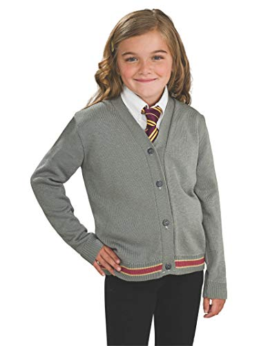 Harry Potter Hermione Granger Hogwarts Cardigan and Tie Costume - Medium