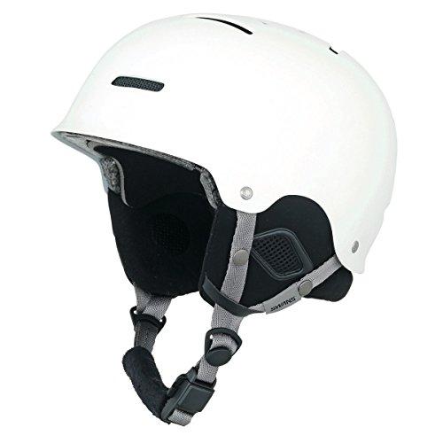 SWANS(スワンズ) スキー スノーボード ヘルメット フリーライドモデル HSF-200S MAW マットホワイト S(54?56cm)