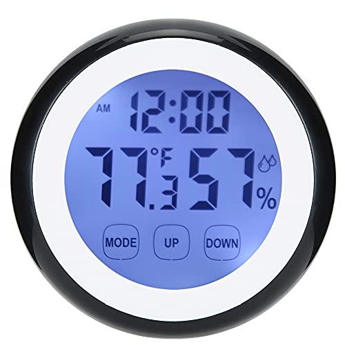 Changor Alarma Reloj, 2 X AAA Batería Abdominales Excelente Decoración 9 X 2.5 cm