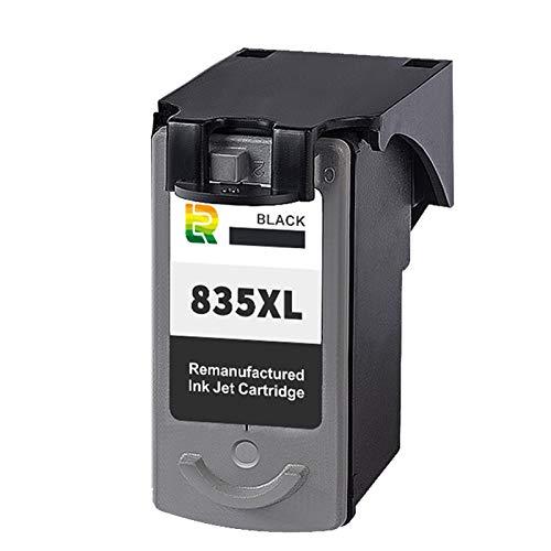 SXCD Cartuchos de Tinta PG835XL CL836XL para Canon PIXMA IP1188, Cartucho de impresión de inyección de Tinta Compatible Reemplazo de Alto Rendimiento y Tinta de visualiza Black