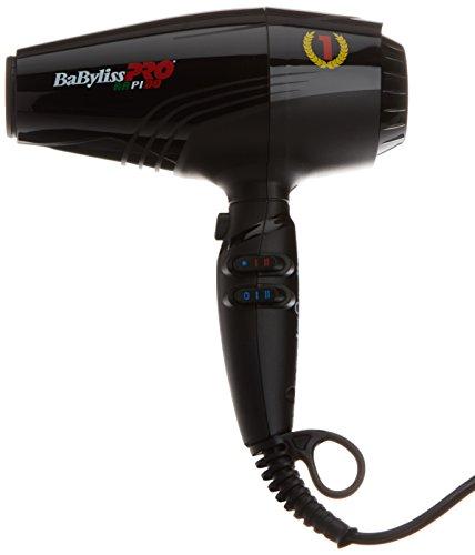 Babyliss Pro BAB7000IE Rapido Ultra Light Haartrockner Föhn mit Ionengenerator, schwarz