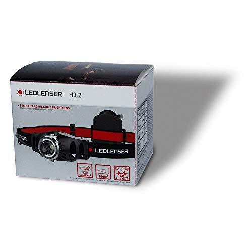 Ledlenser(レッドレンザー)H3.2LEDヘッドライト単4(AAA)3本[日本正規品]