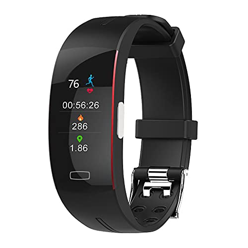 ZGZYL P3A Men's Smart Watch Temperatura ECG PPG Ritmo Cardíaco Presión Arterial Monitoreo Smart Watch Fitness Tracker Men's Smart Bracelet,I