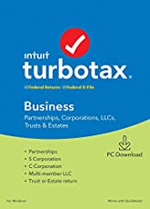[Old Version] TurboTax Business 2019 Tax Software [PC Download]