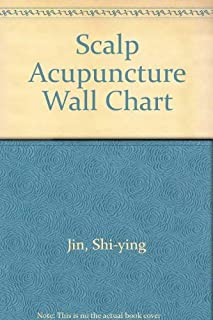 Scalp Acupuncture Wall Chart (Spanish-Chinese)