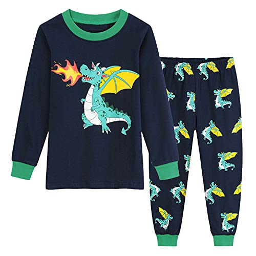 Ropa para niños y niñas, diseño de dibujos animados, pijamas, camisón, pantalones, conjunto de ropa para bebés, niños pequeños, c, 120 cm