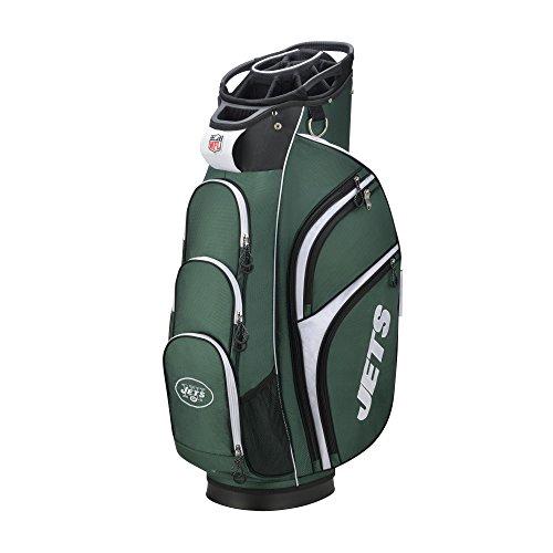 Wilson Sporting Goods 2018 NFL Golf Cart Bag, New York Jets, Green/White
