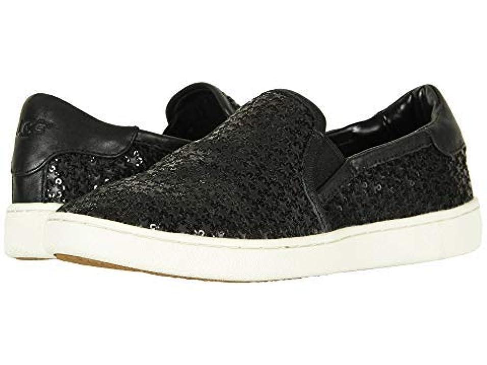 [UGG(アグ)] レディーススニーカー?靴?シューズ Cas Glitter Black US 6.5 (23.5cm) B - Medium [並行輸入品]