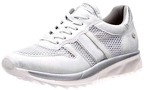 XTI 49009, Zapatillas Mujer, Plateado (Plata Plata), 36 EU