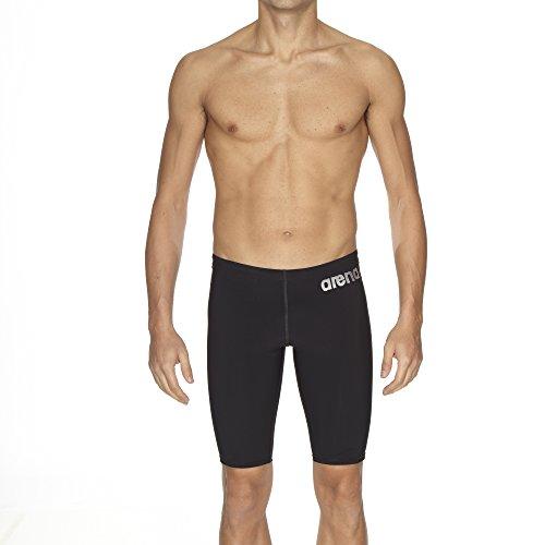 arena Herren Schwimm-Wettkampfhose Powerskin ST, Black, One size, 27157