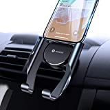 VICSEED Easy Car Phone Mount, Upgraded Air Vent Phone Holder for Car, Handsfree Cell Phone Car Mount Fit for iPhone SE 11 Pro Max XR Xs Max Xs X 8 7 6 Plus Samsung Note 20 10 S20 S10 S9 LG Google Etc.
