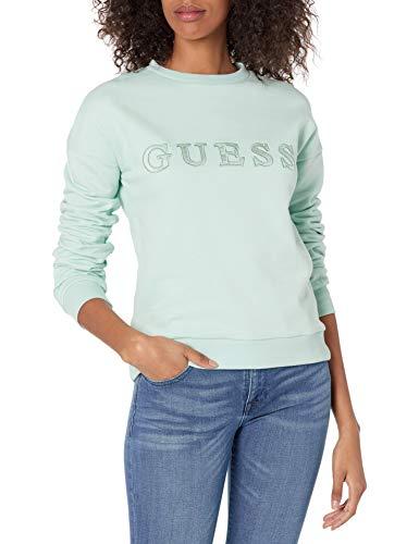 Guess Felpa O1GA01 K68I1 Sweatshirt Donna (Menta, XS)