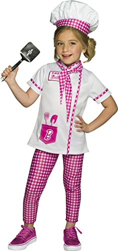 Rubie's Barbie Chef/Baker Child's Costume, Medium, 700978_M