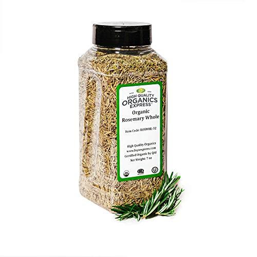 HQOExpress | Organic Rosemary Leaf | 7 oz. Chef Jar