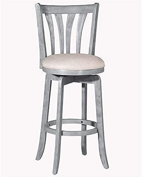 Hillsdale Furniture 4617 826 Hillsdale Savana Swivel Counter Stool Blue