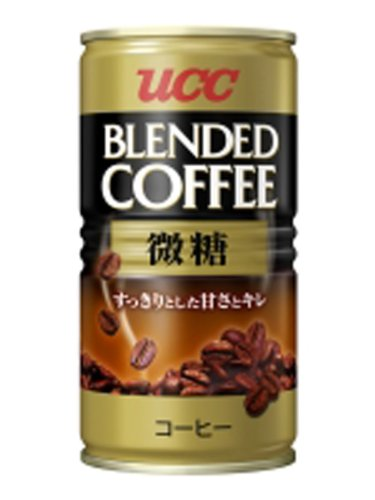 UCC ブレンドコーヒー微糖 缶185g×30本