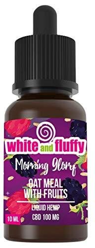 White and Fluffy® 100mg CBD Liquid • Test-Note 1,4 • PG VG 10ml nikotinfrei (Morning Glory • 100mg)