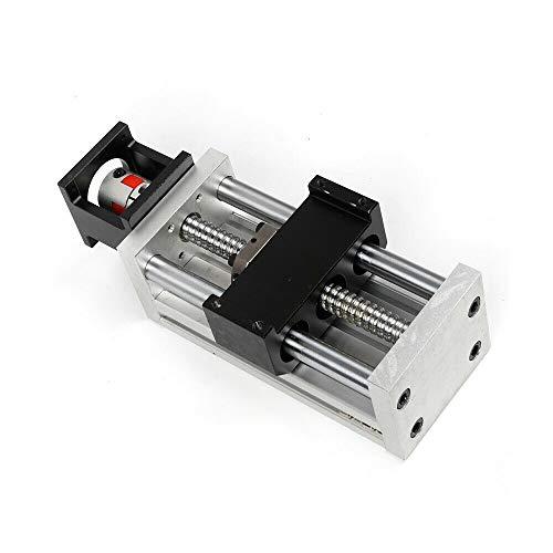 Husillo manual de 100 mm, husillo de bola, escalón lineal CNC, SFU1605